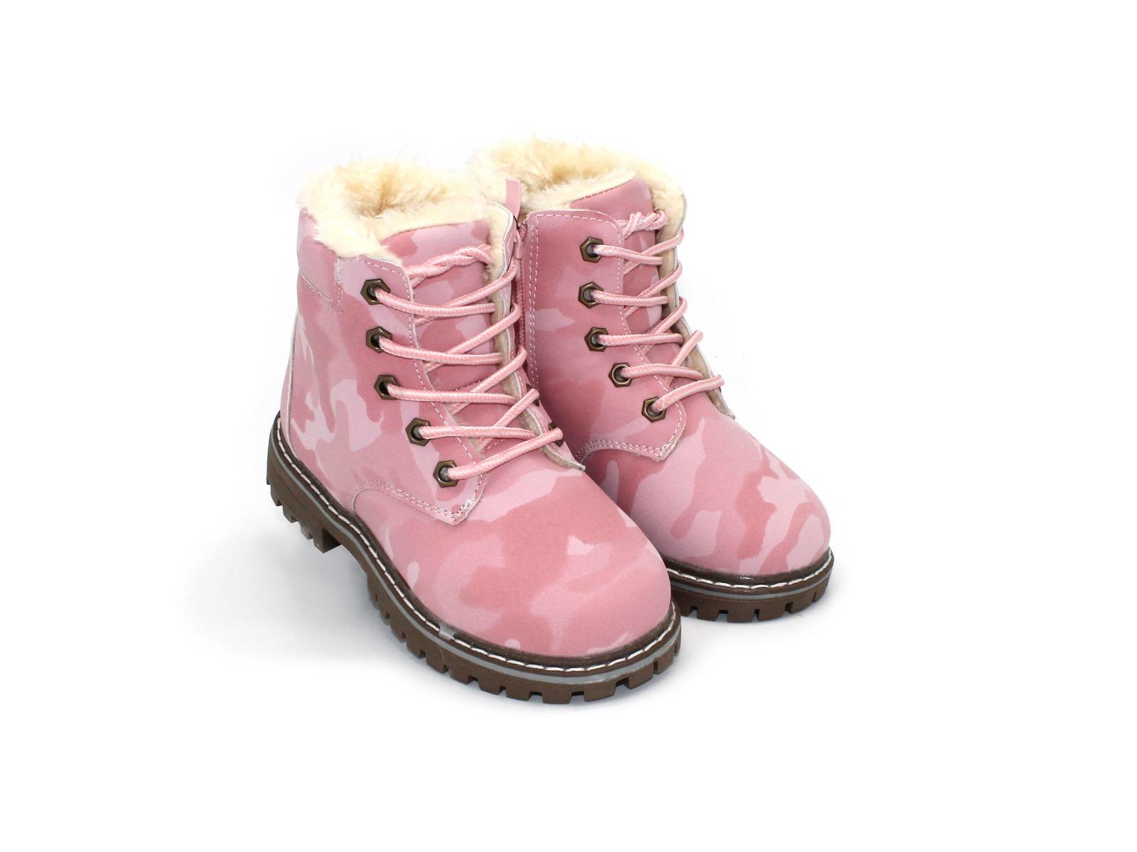 6a0486205 Ботинки Шалунишка для девочек розовые эко кожа 34 размера - купить в ...