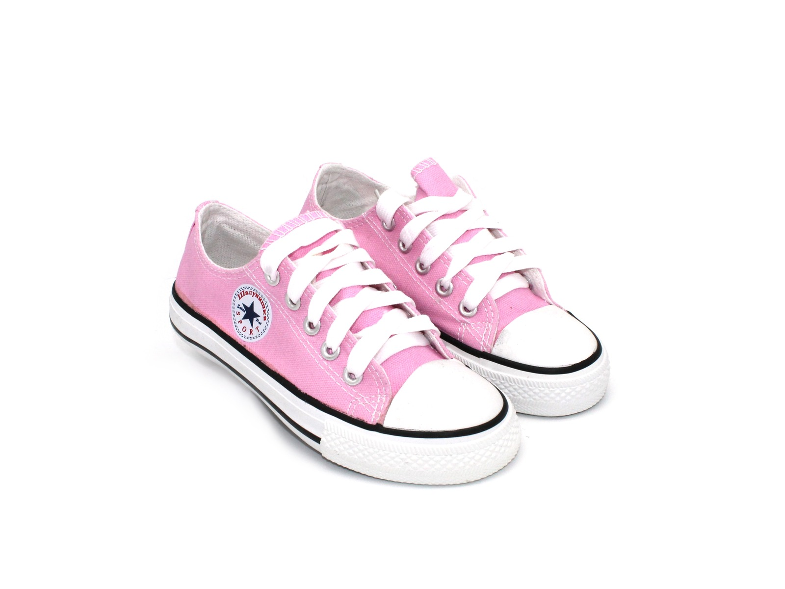 5bc2d1625 Кеды Шалунишка для девочек розовые с шнурками 31 - 36 размера ...