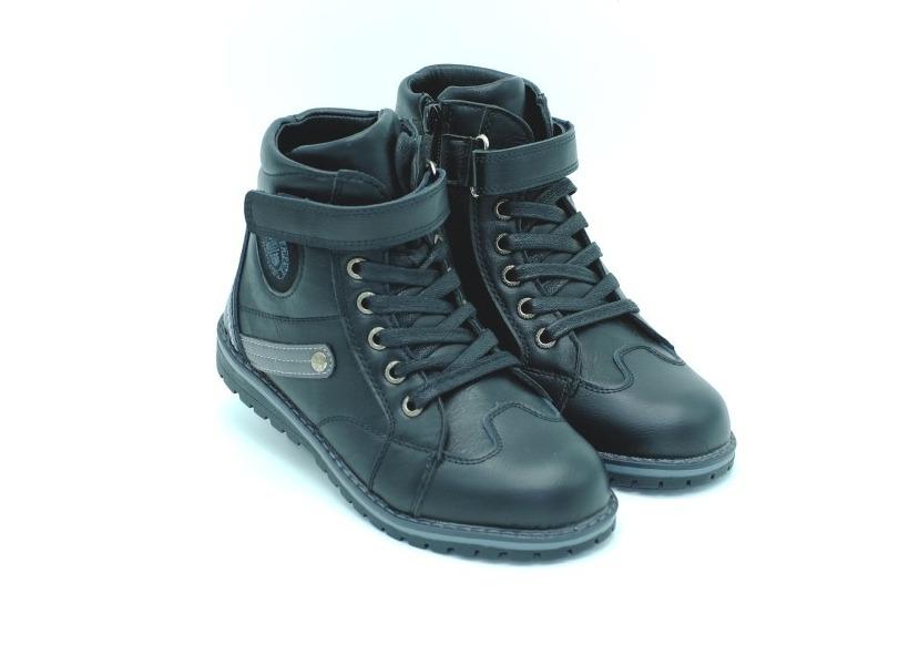 Ботинки Tom M для мальчиков черные утеплённые - купить в интернет ... c1853d780f3ba