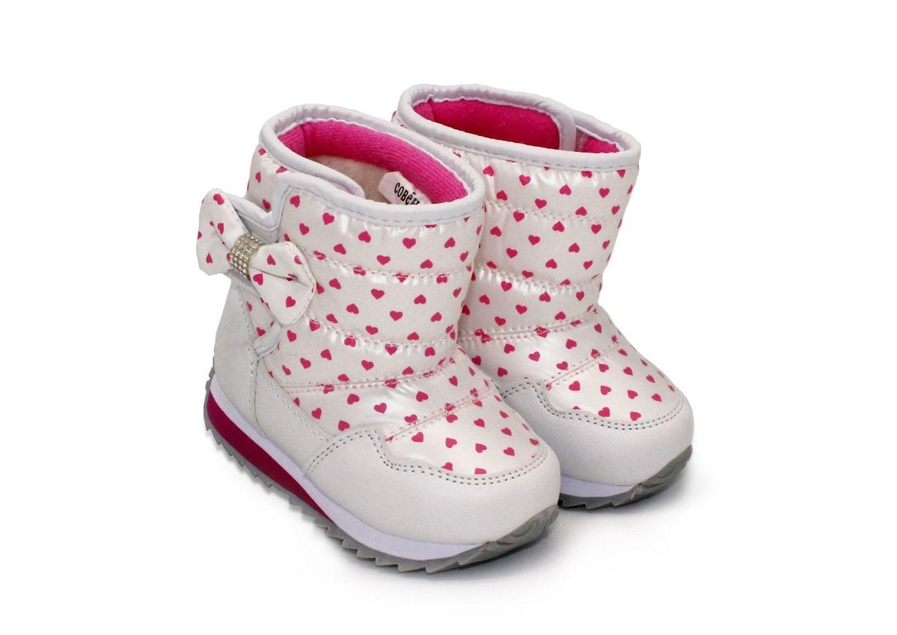 cf1332bf6 Дутики Совёнок для девочек с сердечками 24 - 26 размера - купить в ...